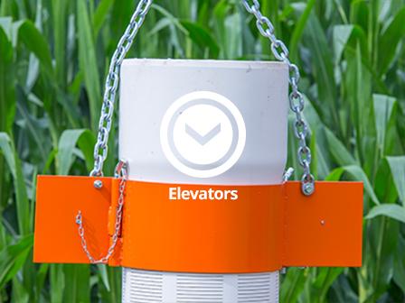 PVC casing elevators