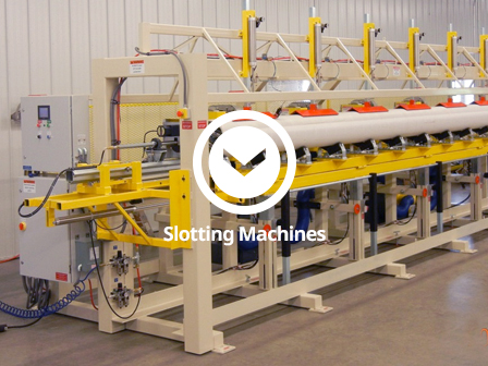 PVC Pipe Slotting Machines