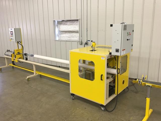 JK1012S PVC Pipe Slotting Machine; automatic pipe slotting machine