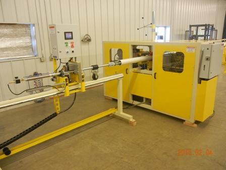 PVC Pipe Slotting Machine, PVC well screens JK4012HD