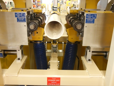 Pipe Slotting Machine JK4012HD, vacuum fixtures