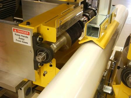 PVC Pipe Slotting Machine, slotting saw shaft