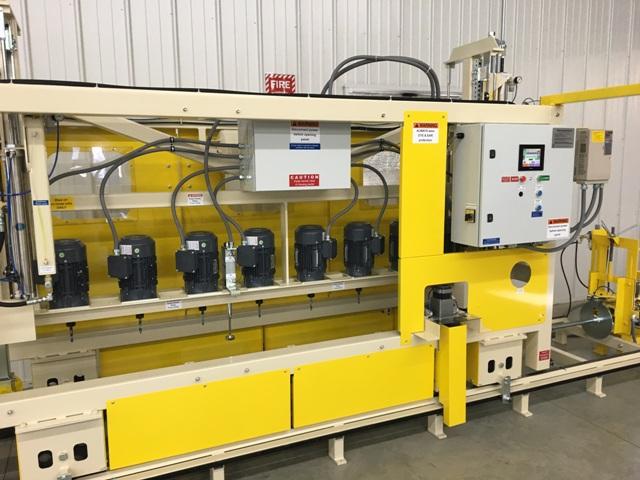JK1660 HDPE pipe perforating machine