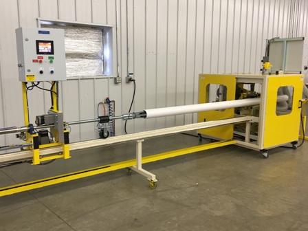 JK1012S PVC Pipe Slotting Machine; automatic screen slotting machine