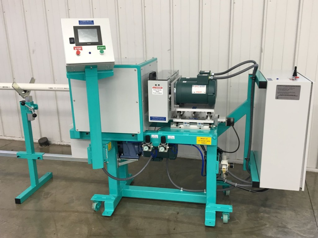 PVC Pipe Threading Machine JK250BP