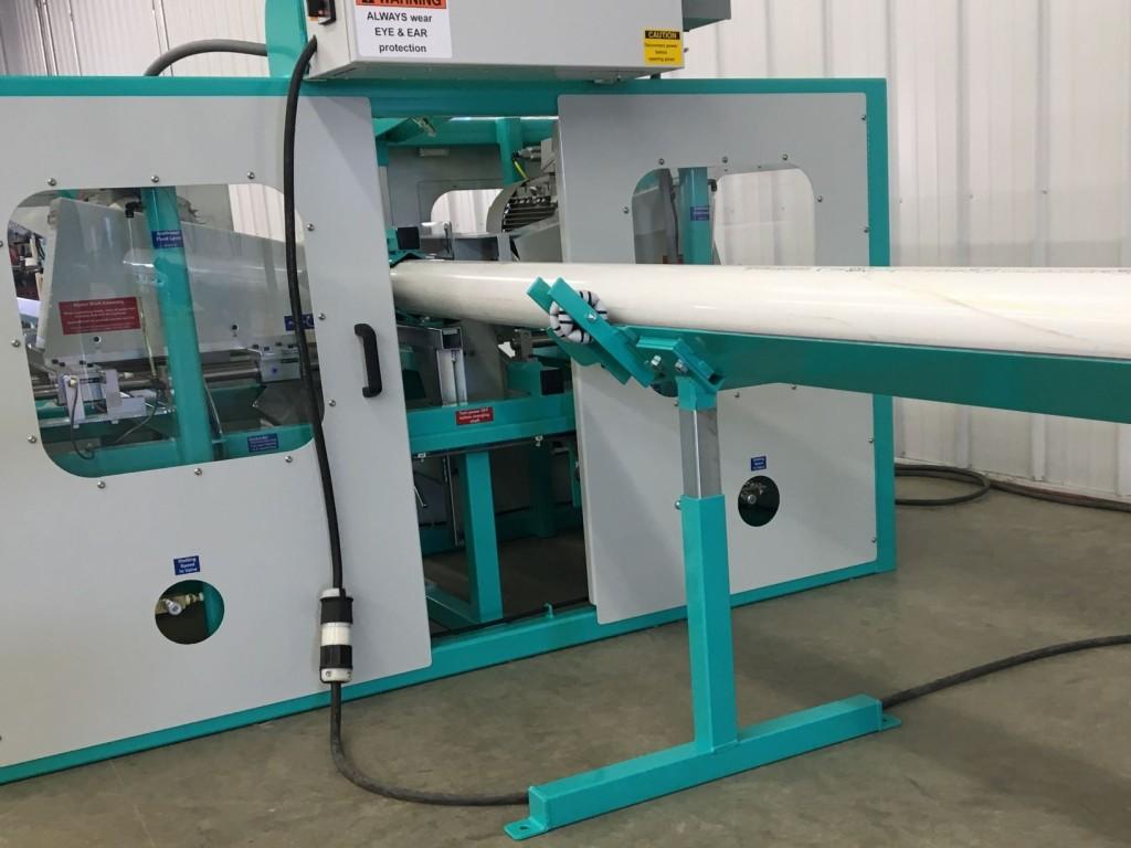 PVC Pipe Slotting Machine JK1012D - safety guards