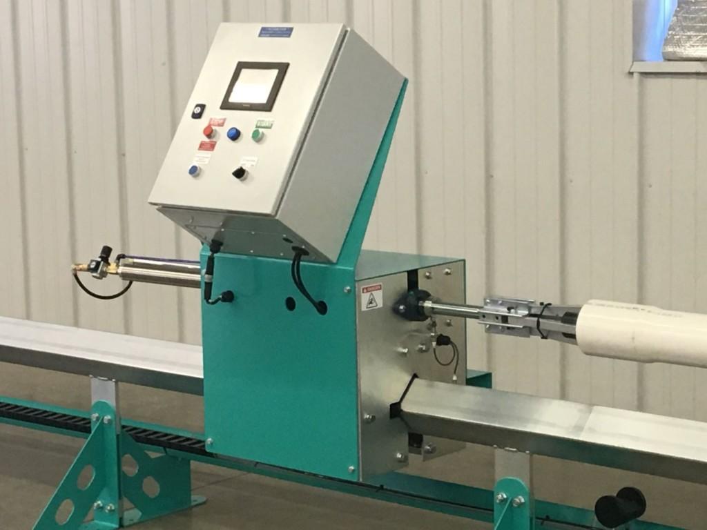 Slotting Machine for PVC Pipe