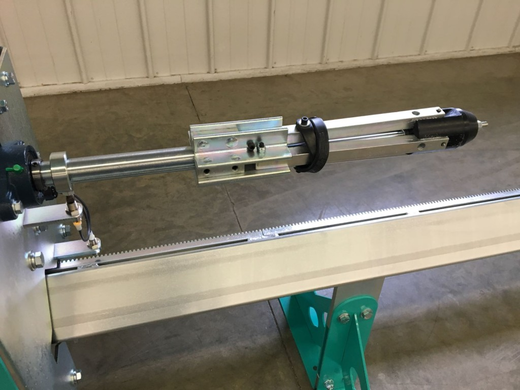 PVC Pipe Slotting Machine ID Pipe Holder