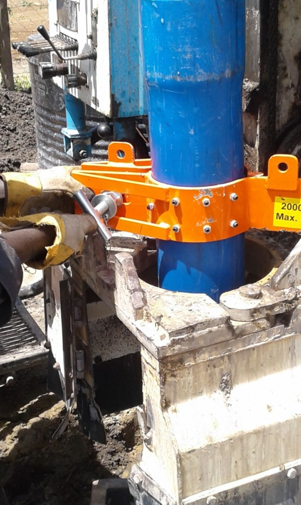 PVC Pipe Clamp