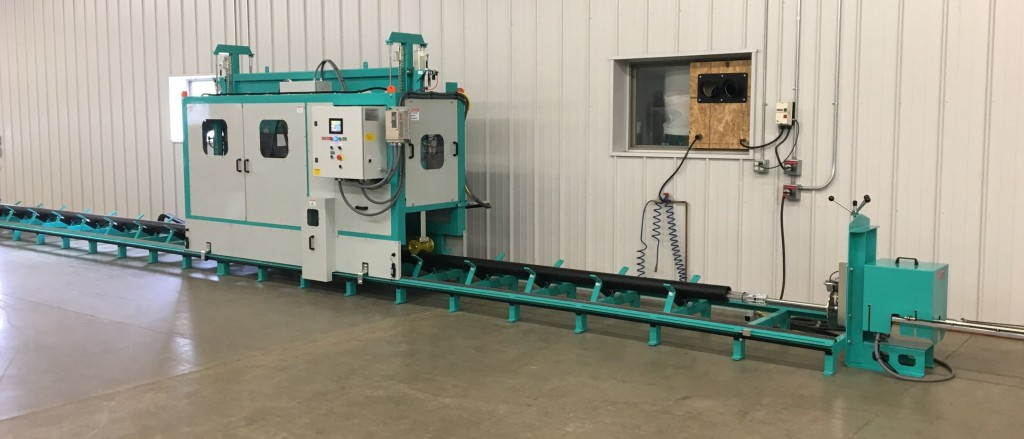 HDPE Pipe Perforating Machine